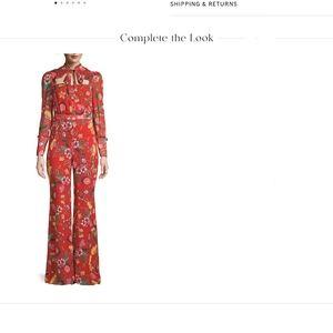 Alexis Imogene floral jumpsuit